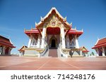 temple  temple or monastery is...   Shutterstock . vector #714248176