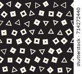 seamless primitive jumble... | Shutterstock .eps vector #714272440