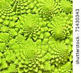Cabbage Romanesco Background