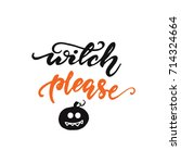 "vector illustration ""witch ... 
