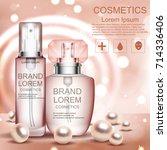 cream. realistic. cosmetics....   Shutterstock .eps vector #714336406