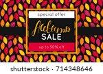 Autumn Sale. Discount In Fall....