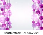 diamond lines background. | Shutterstock . vector #714367954