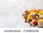 Fall Autumn Harvest Concept....