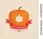 vector illustration of canadian ... | Shutterstock .eps vector #714383500