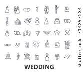 wedding  invitation  bride ...   Shutterstock .eps vector #714397534