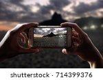 Photo Camera Of A Smartphone....