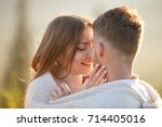 closeup of young beautiful... | Shutterstock . vector #714405016