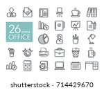 office outline icon. office...