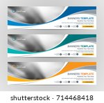 abstract web banner design... | Shutterstock .eps vector #714468418
