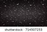 dark background with...   Shutterstock .eps vector #714507253