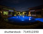 Swimming Pool Of A Resort By...