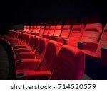 movie theater seats new unused... | Shutterstock . vector #714520579