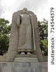 buddha statue in colombo | Shutterstock . vector #714544579