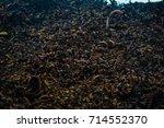 heavy metal scrap in many...   Shutterstock . vector #714552370