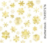 snow crystal texture background   Shutterstock .eps vector #714557176