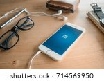 chiang mai  thailand   aug 3... | Shutterstock . vector #714569950