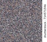 dark terrazzo floor  marble...   Shutterstock .eps vector #714571546