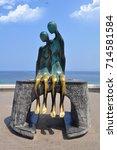 puerto vallarta  mexico... | Shutterstock . vector #714581584