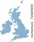 blue square shape united...   Shutterstock .eps vector #714604054