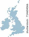 Blue Circle Shape United...