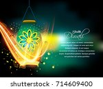 nice and beautiful abstract for ... | Shutterstock .eps vector #714609400