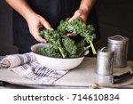Kale Leafy Greens Vegetable Bo...