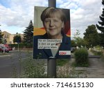 berlin  germany   august 21 ... | Shutterstock . vector #714615130