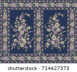 traditional indian motif | Shutterstock . vector #714627373