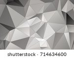 polygonal pattern. background... | Shutterstock .eps vector #714634600