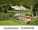 Rowboat  Kylemore Abbey In...