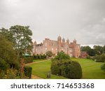 outside view of melford hall...
