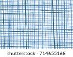 blue vertical   horizontal... | Shutterstock . vector #714655168