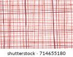 red vertical   horizontal lines ... | Shutterstock . vector #714655180