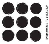 vector grunge stamps.... | Shutterstock .eps vector #714662524