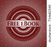 free ebook vintage red emblem