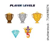 player levels from 1 to 5...