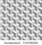 abstract geometric background... | Shutterstock .eps vector #714700204
