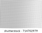 black and white dotted halftone ... | Shutterstock .eps vector #714702979