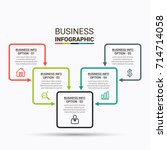 infographic elements design | Shutterstock .eps vector #714714058