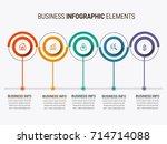 infographic elements design | Shutterstock .eps vector #714714088