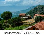 house in the background of the... | Shutterstock . vector #714736156