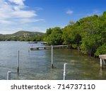 isla culebra  puerto rico march ... | Shutterstock . vector #714737110