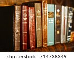 Numerous Holy Bibles Sit In A...