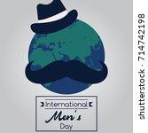 international men's day  19...   Shutterstock .eps vector #714742198