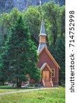A Small Church In Yosemite...