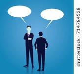 vector illustration. business... | Shutterstock .eps vector #714784528