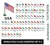 flags of world countries... | Shutterstock .eps vector #714793558