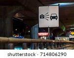 photo enforced speed radar | Shutterstock . vector #714806290