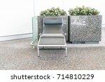 empty seat in the airport  ... | Shutterstock . vector #714810229
